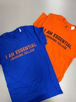 SHORT SLEEVE T-SHIRT - I Am Essential above Louisiana College