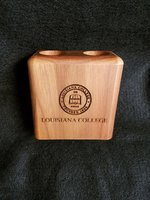 LC PENCIL CUP WOODEN