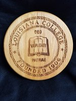 LC WOODEN SEAL PLAQUE