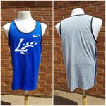 TANK - royal or orange front and gray back with a white LC Claw and Swoosh on front