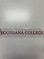 LOUISIANA COLLEGE DECAL