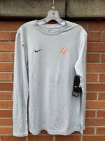 LONG SLEEVE T-SHIRT - orange/white LC on the left chest and a white Swoosh on the right chest