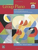 ALFRED'S GROUP PIANO FOR ADULTS (W/CD) (BK 1)
